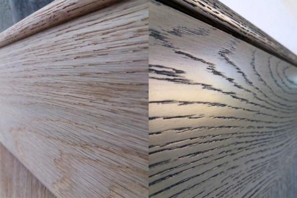 Βαφή ξύλου ντεκαπέ: Πριν και Μετά